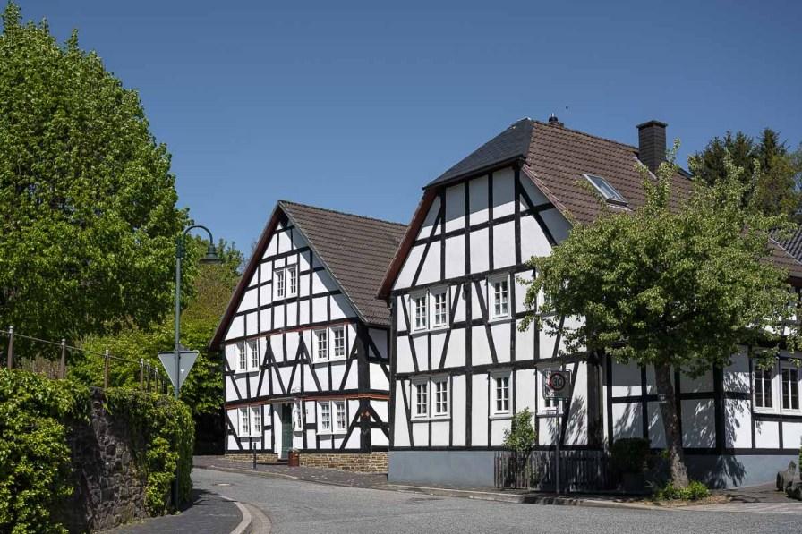Fachwerkhäuser in Friesenhagen