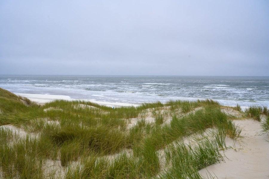Durch die Dünen geht es zum Strand