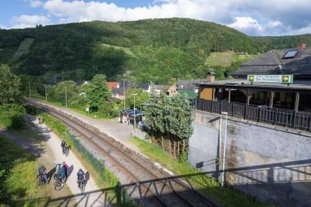 Bahnhof in Rech