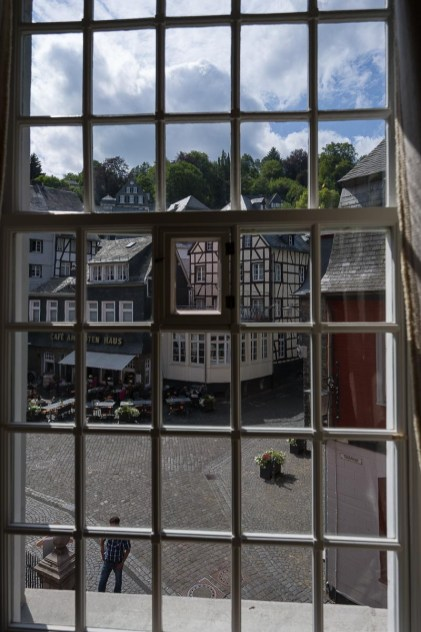 Blick aus dem Roten Haus