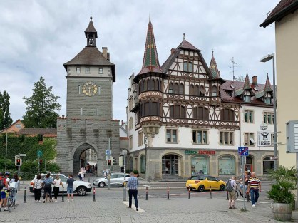 Stadttor am Rande der Altstadt
