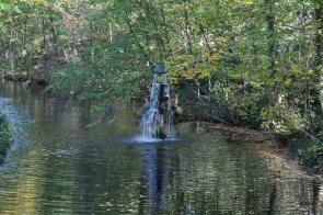 Springbrunnen im Schlosspark