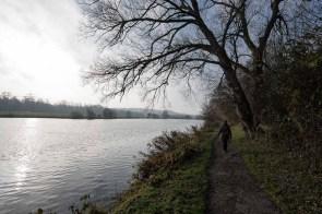 Weg an der Ruhr entlang