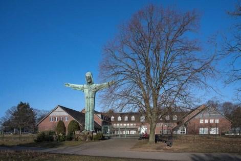Christus Statue an der Styler Mission