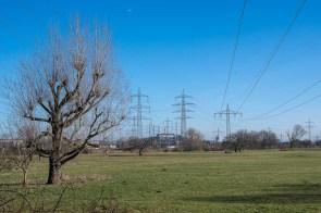 Massenhaft Stromleitungen aus dem Braunkohlegebiet