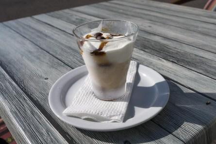 Eis mit Cafe für Petra