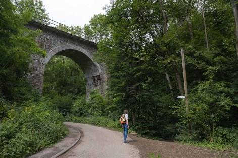 Bahnbrücke über den Brexbach