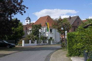 Seitenstrasse in Schloss Neuhaus