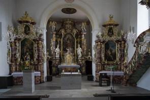 Im Innern der Pfarrkirche