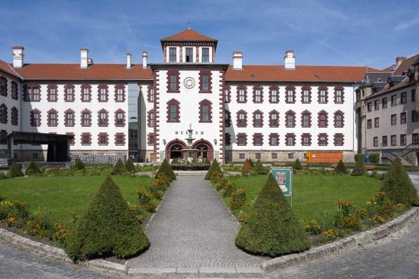 Schlosshof in Meiningen