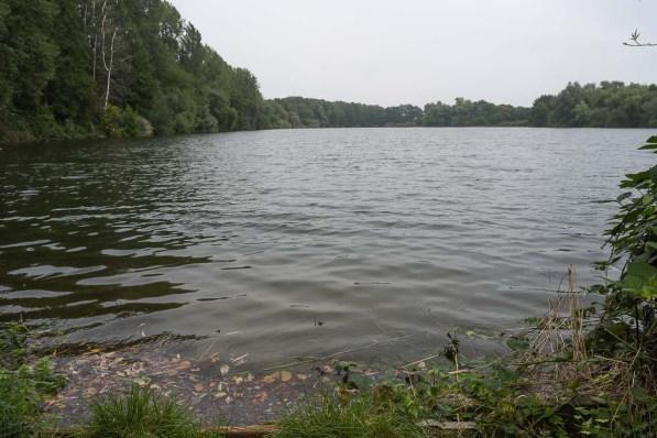 Latumer See auf dem Hinweg