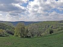 Der Blick zurück ins Tal