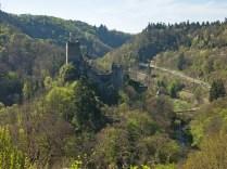 Blick auf die Niederburg und die Lieser