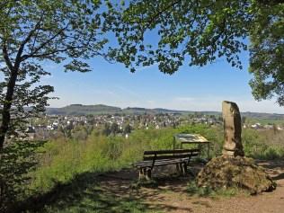 Belvedere mit Blick auf Manderscheid