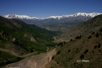 auf dem Weg ins Fergana-Tal