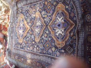 Afghan rug for Gram