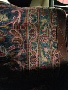 Back of Afghan Rug