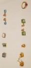 Various custom-made jewelry