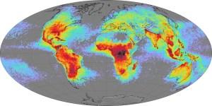 Map of Lightning Strikes