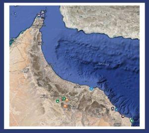 Oman Map Infographic