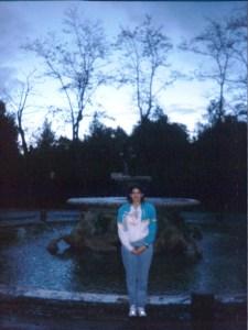 CJ at Villa Borghese Gardens Rome, Italy 1996