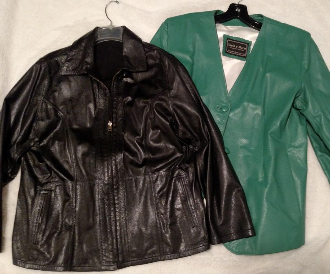 Custom leather coats