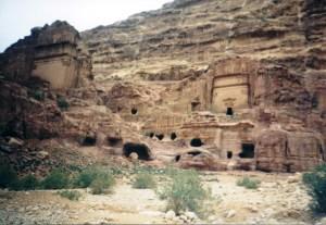 Panorama Petra Jordan