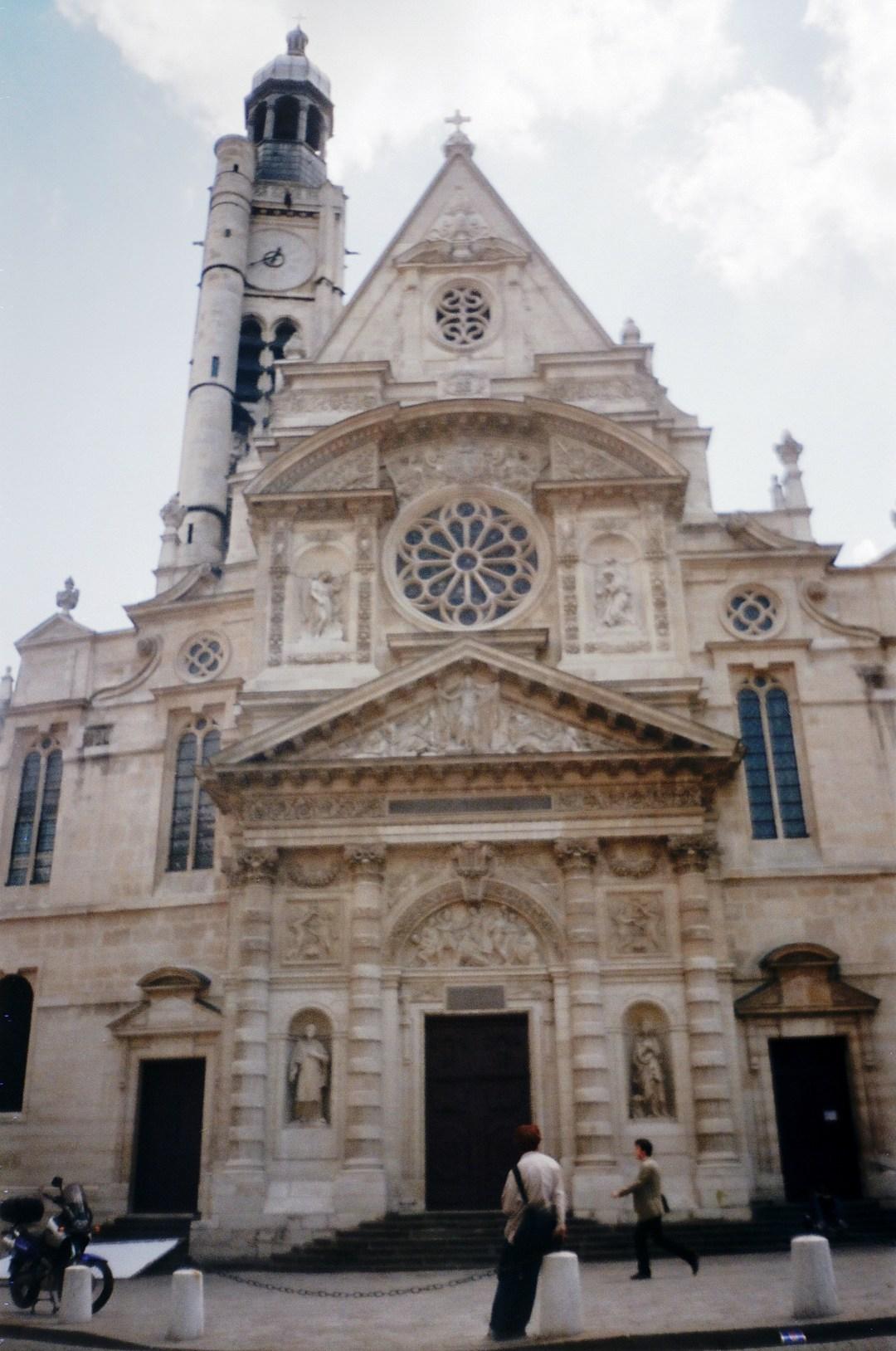 Church of Saint Etienne du Mort Paris France May 1998
