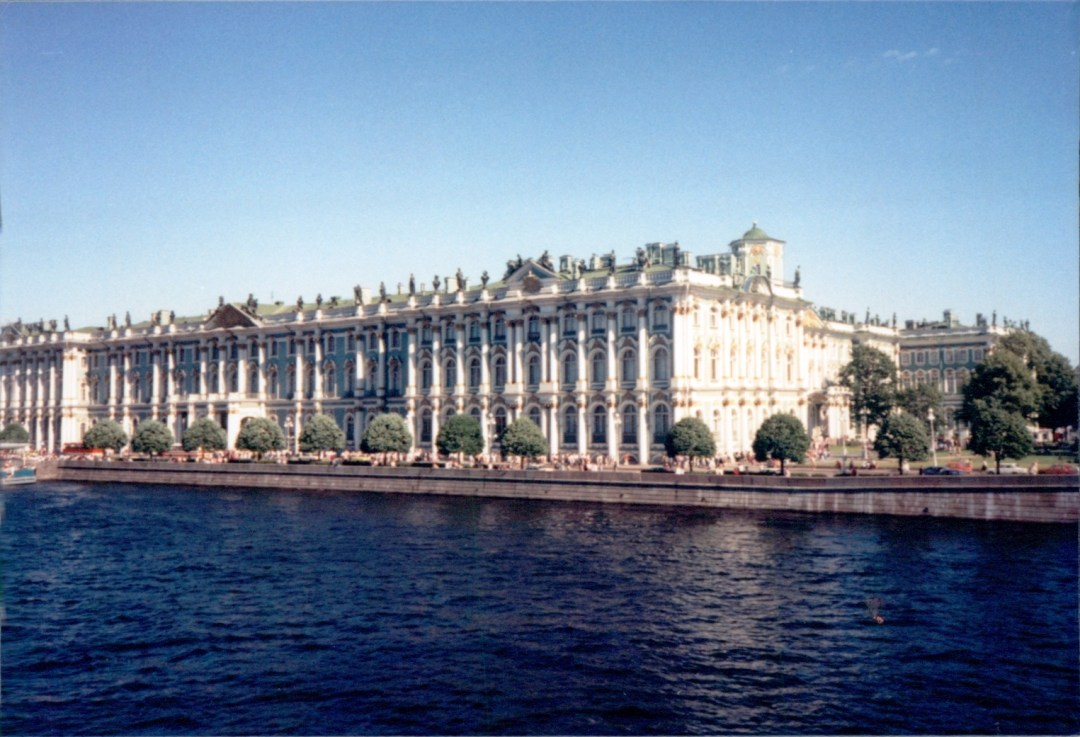 The Winter Palace, Hermitage Museum Saint Petersburg, Russia July 19