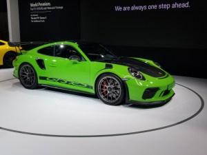 2019 Porsche GT3 RS Weissach 2
