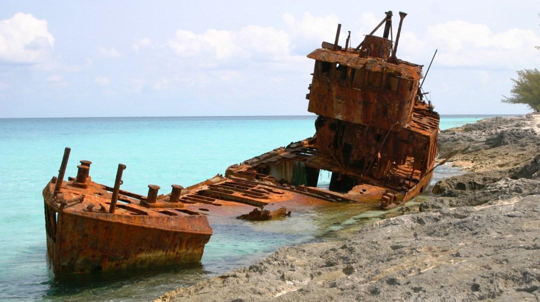 Lady Gallant Shipwreck, Bimini, Bahamas