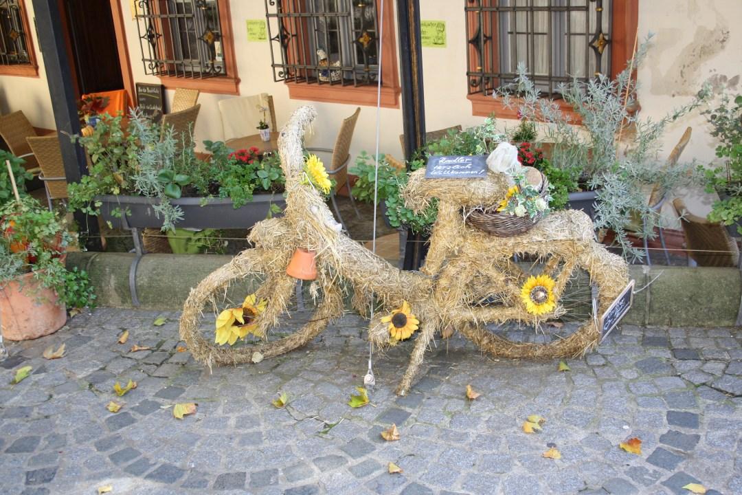Art Bike Seen In Bamburg, Germany