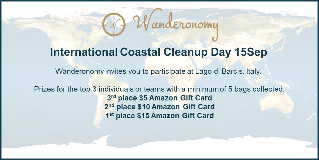 Wanderonomy Coastal Cleanup