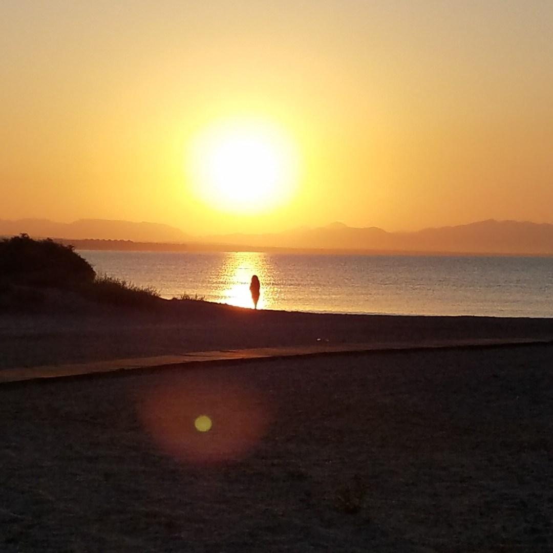 Solitary Sunrise Costacabana, Spain