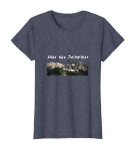 Wanderonomy Original Hike the Dolomites Tshirt