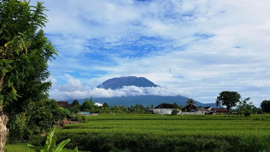 Mt Agung Bali, Indonesia