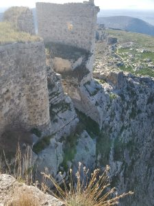 Looking down from Anavarza Kalesi Ruins
