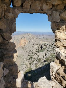 View of the Northern Lookout Anavarza Kalesi Ruins