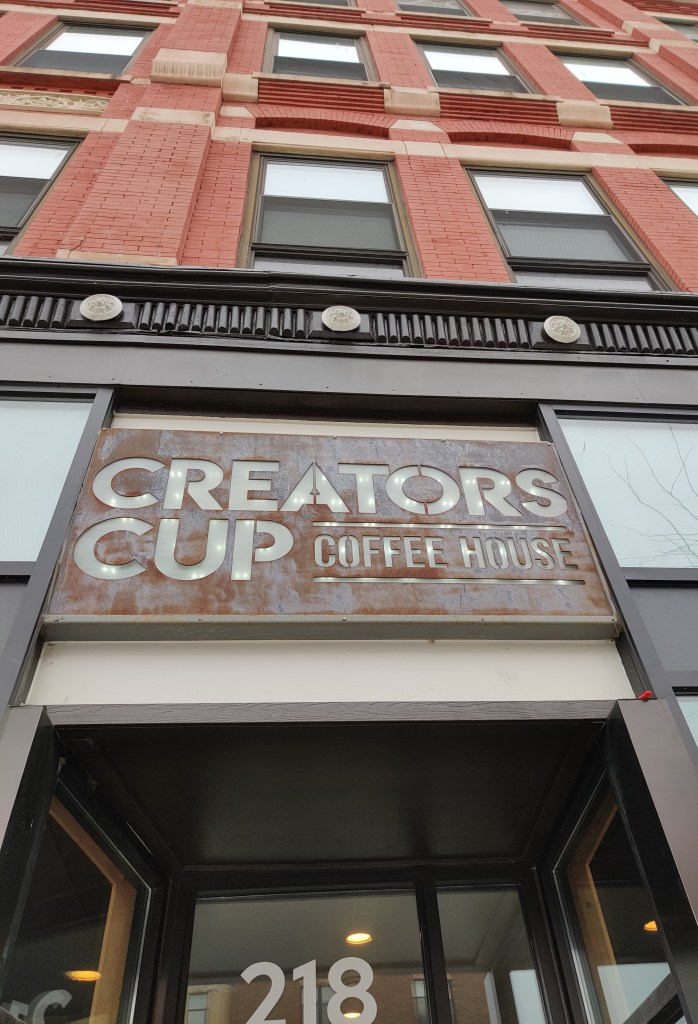 Be Inspired at Creators Cup Coffee House
