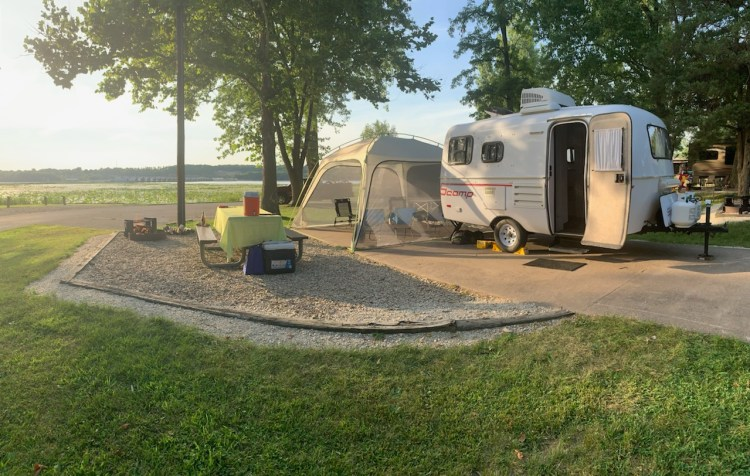 Exciting Camping Adventures in the Quad Cities scamp