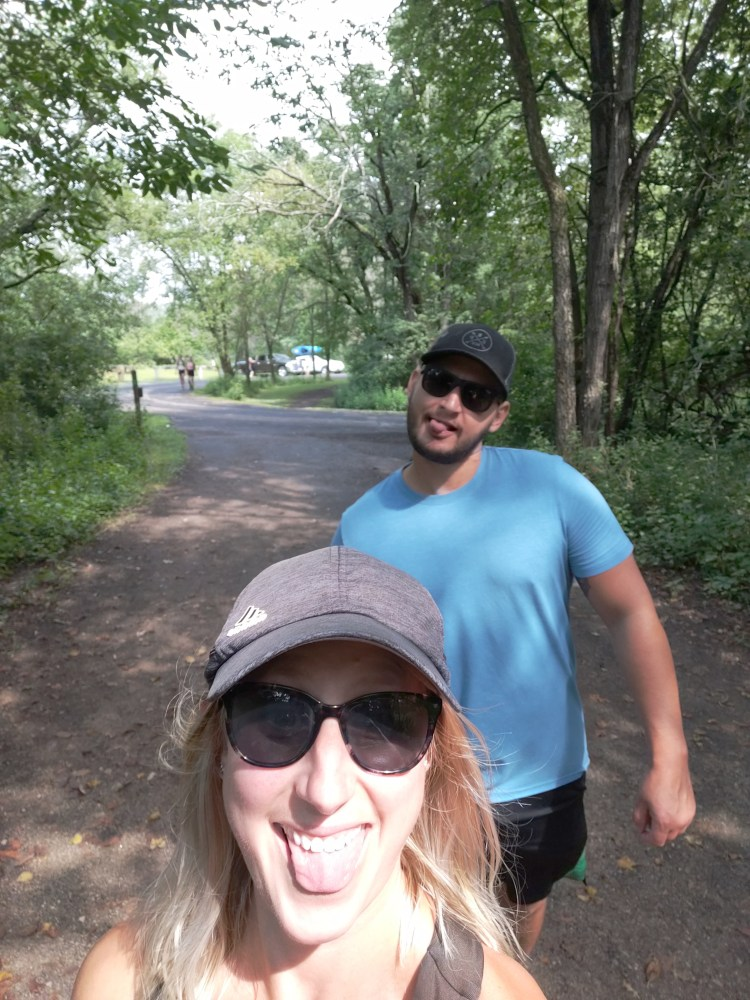 Photos along the trail to the Willow River waterfall