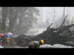 Typhoon Vongfong: Beauty Amidst the Storm