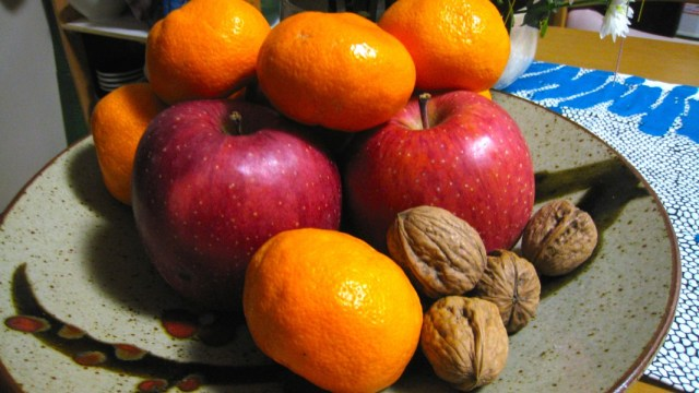 New Year Fruits