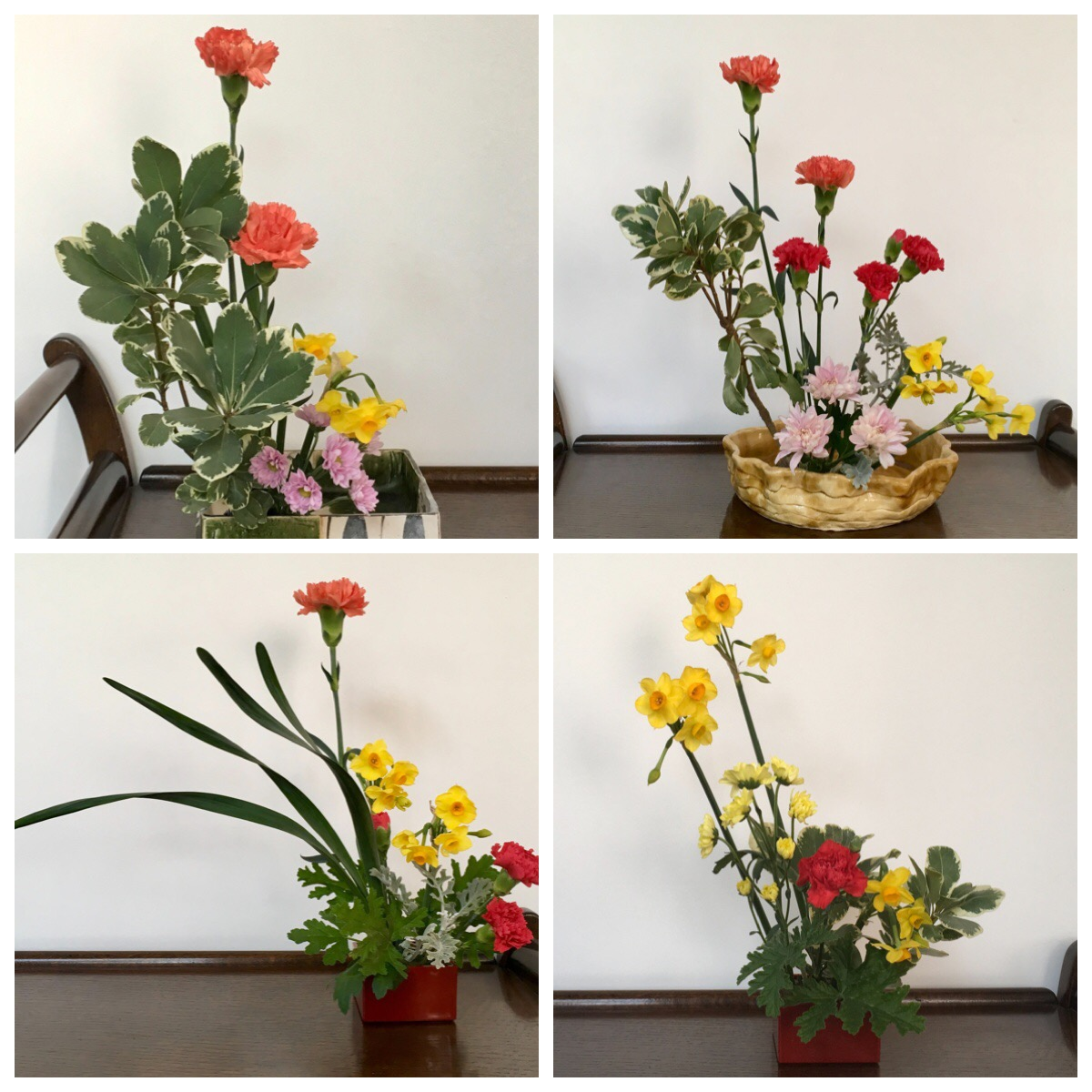 Happy Moments at BLJ Ikebana Class