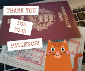 How to cross Kazakh border [as a cat]
