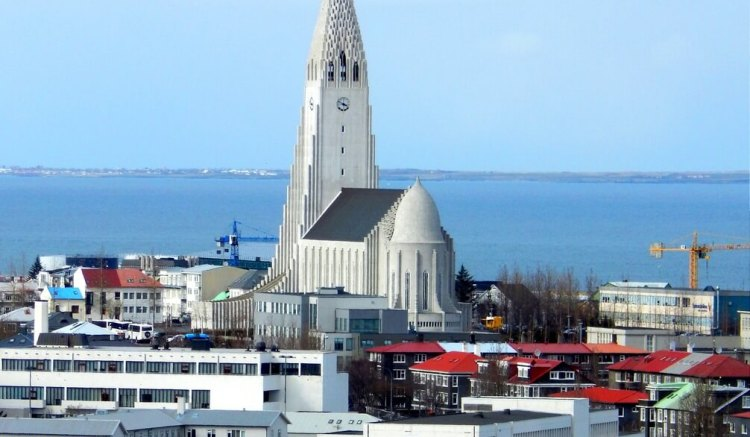 Hallgrímskirkja Church, Reykjavík, Iceland