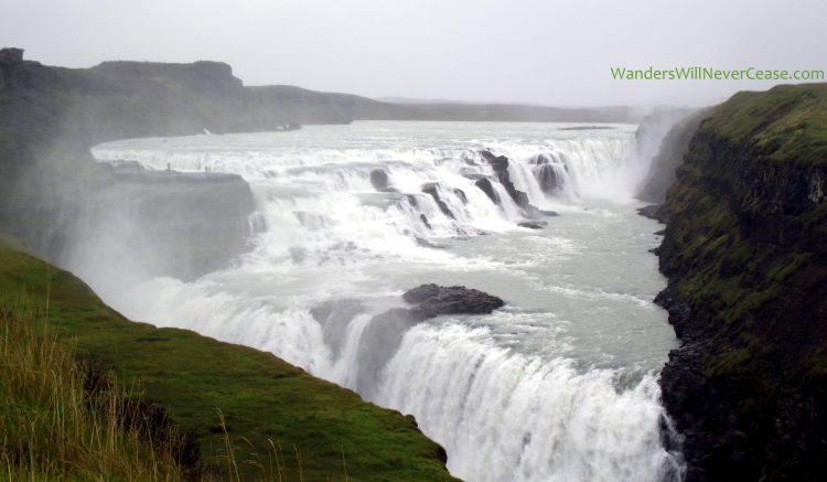 Gulfoss Waterfall Golden Circle Iceland