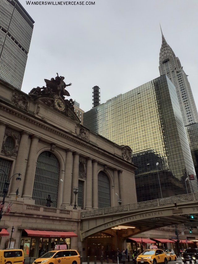 Grand Central Terminal Station Chrysler Building New York
