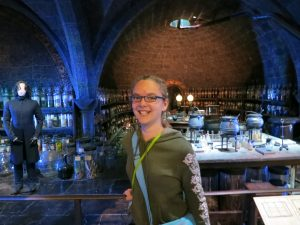 Lydia in Potions Class :-D