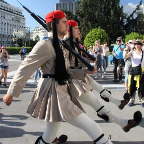 Changing of the Guard, Athens